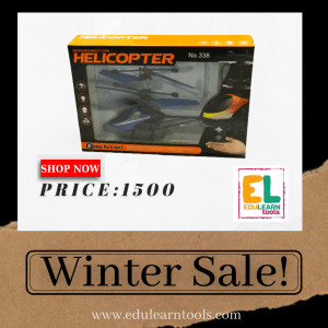 helicopter toy with hand sensor